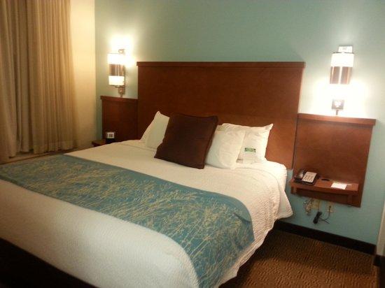 SpringHill Suites Birmingham Downtown at UAB : king suite