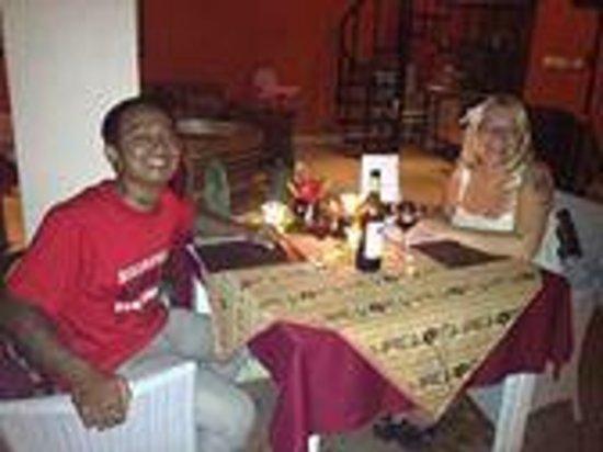 GaRaSi Restaurant, Bar & Coffeegarden: romantic dinner