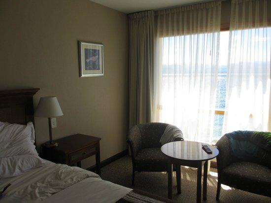 Cacique Inacayal Lake & Spa Hotel: Habitación