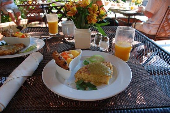 Hotel Villa Verde Merida: Delicious breakfast