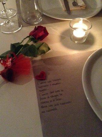 Osteria delle Aie: san valentino