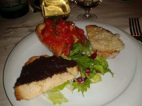 L'Insalata Ricca: bruschette