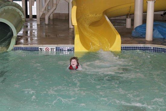 Hampton Inn & Suites North Conway: Indoor water slides
