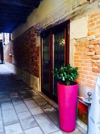 Hotel Ca' d'Oro: Hotel courtyard