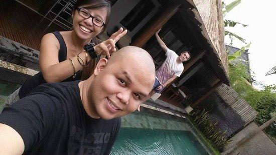 Villa Nirvana Bali: with friends
