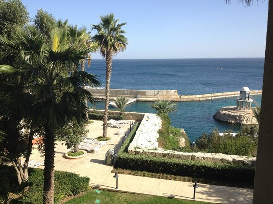 Hilton Malta : View from my room
