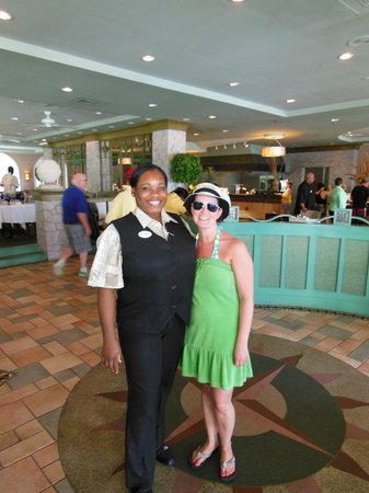 Sandals Royal Bahamian Spa Resort & Offshore Island : Natalie - hostess at Spices, such great service