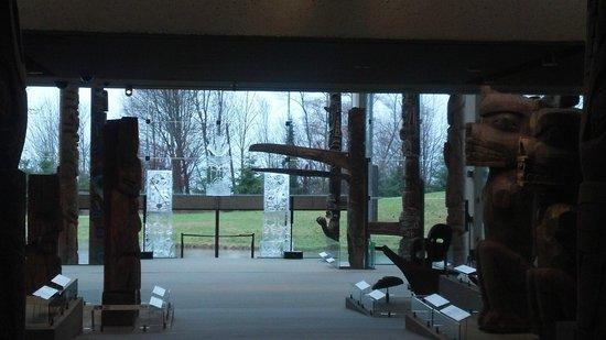 Museum of Anthropology : entrada principal do Museu de Antroplogia UBC