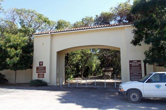 Dagny Johnson Key Largo Hammock Botanical State Park : Entrance