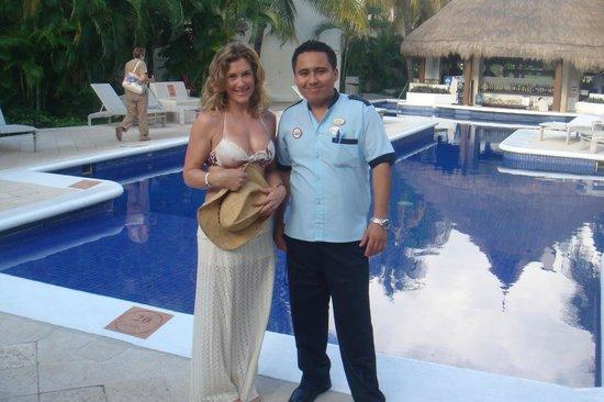 Laguna Suites Golf & Spa: Com Alberto, Bell Boy muito prestativo e simpático!