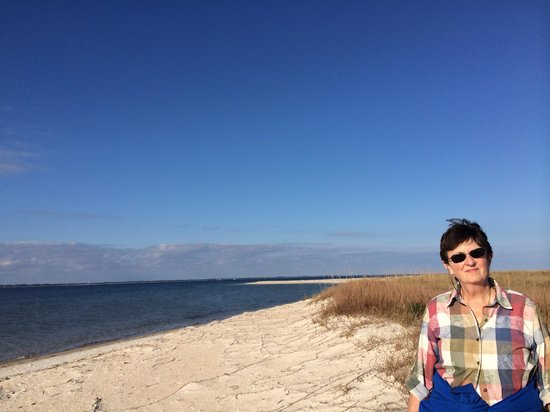 Saint George Island State Park: End of great bike ride