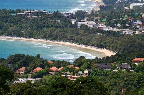 Kata Beach: As seen from Karon view-point