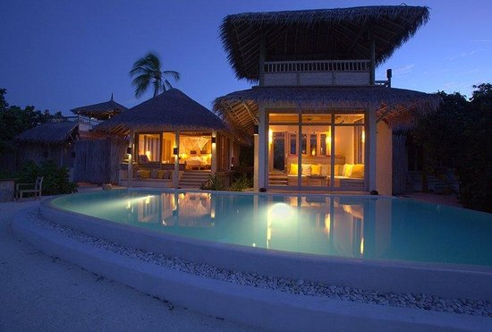 Six Senses Laamu: Lagoon Beach Villa 2 Bedrooms with Pool