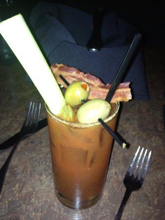 Crabby's: Bacon bloody mary