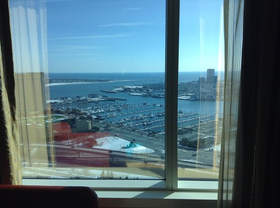 The Water Club by Borgata: View from window of room 2878.