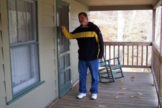 Pembroke, VA: Patrick Swayze knocked on this very door. It was the Houseman's room