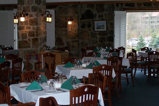 Mountain Lake Lodge: dining room