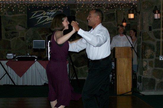 Mountain Lake Lodge : Ballroom dancers