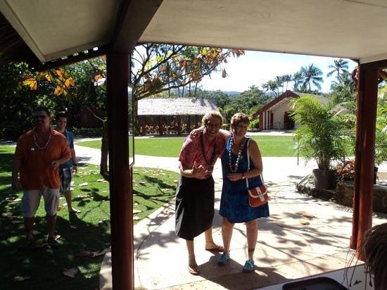 Polynesian Cultural Center: Matt was lots of fun. we got temporary tattoos