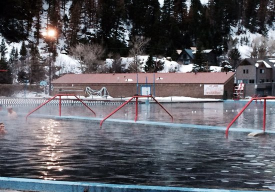 Ouray Hot Springs Pool: Hot spring