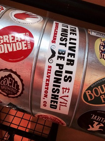 Ouray Brewery : Love this sticker.