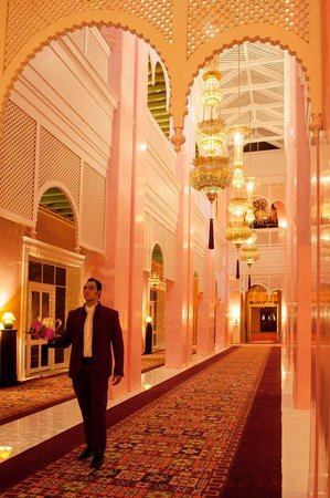 Sahara Palace Marrakech: Corridor