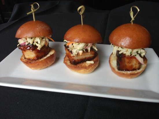 The Living Room: pork Belly Siders