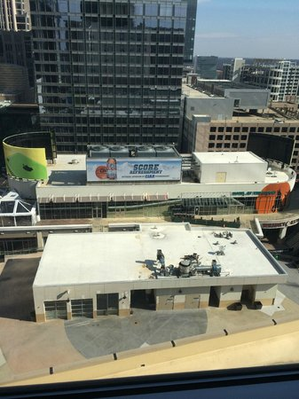 Aloft Charlotte Uptown at the EpiCentre: View of club from room