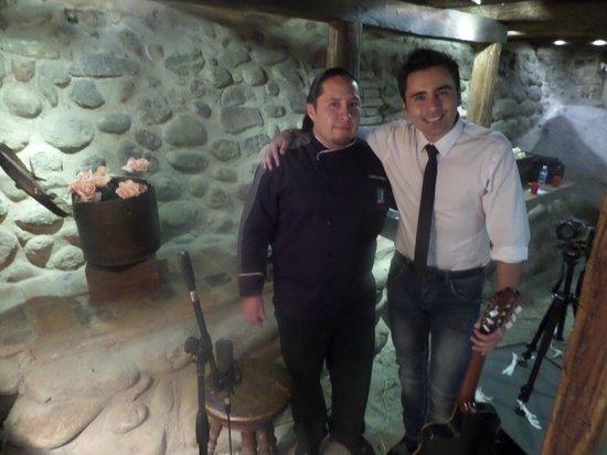 Gastro Todosantos: El cantante y el chef