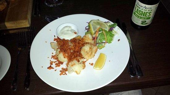 Penny Lane Gardens Restaurant: Szechuan calamari