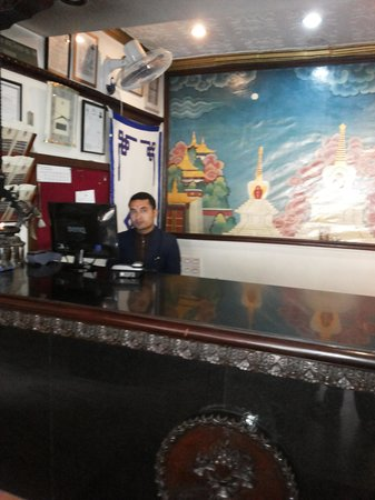 Hotel Norbu Linka : Mr Rajkumar