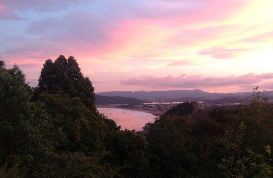 Seascape Escape B&B.: Sunset in whitianga