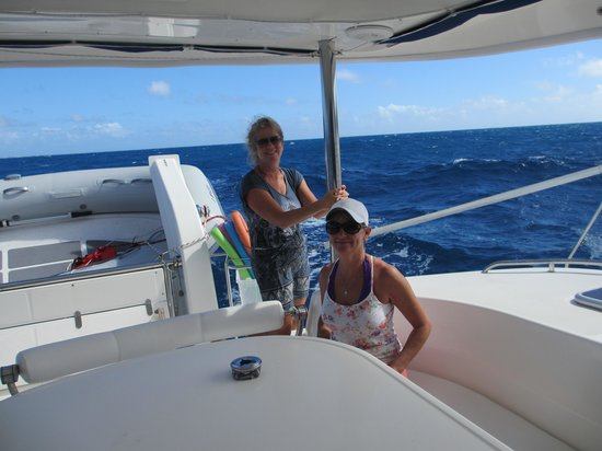 Private Yacht Charter SXM: June and Sherry
