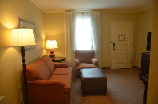 Embassy Suites by Hilton Tampa - Downtown Convention Center: Living Room space