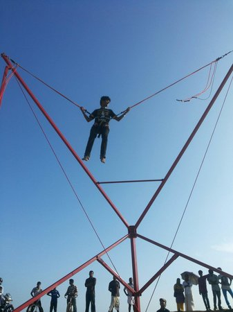 Bungee Jump at Alleppey Beach