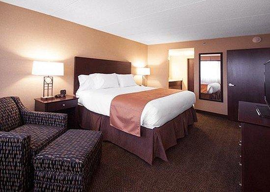 Comfort Inn & Suites: Suite Bedroom Area