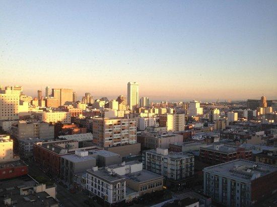 Holiday Inn San Francisco Golden Gateway : Sunset over San Francisco