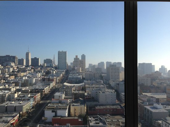 Holiday Inn San Francisco Golden Gateway: The view from my hotel room