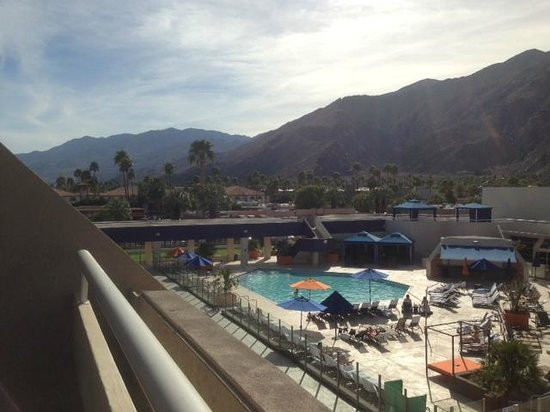 Hard Rock Hotel Palm Springs: View from room