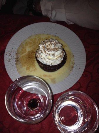 Auberge de Beauzelle: Fondant au chocolat