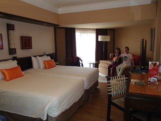 PARKROYAL Penang Resort, Malaysia: Deluxe Seafacing Twin Room