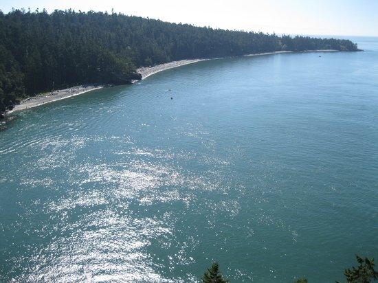 Deception Pass State Park : View from the Bridge