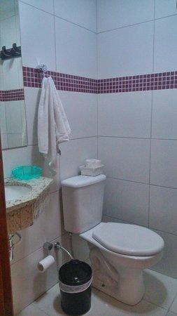 Pousada Princesa Isabel Dom Pedro: Banheiro, suíte luxo