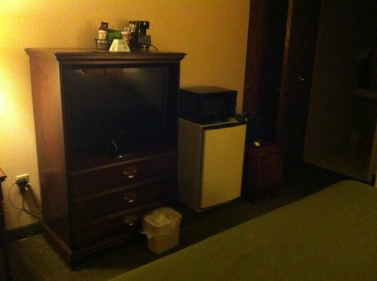 Quality Inn - Stone Mountain: TV in the room + Microwave and fridge