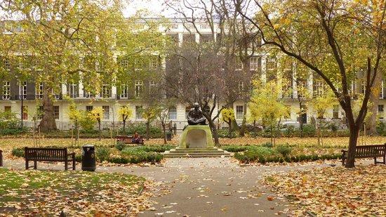Tavistock Square in Bloomsbury