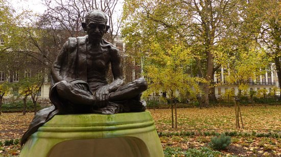 Gandhi Statue at Tavistock Square