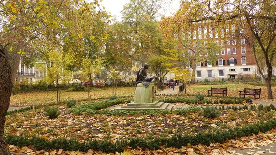 Tavistock Square in Autumn