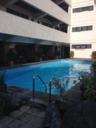 Copacabana Apartment Hotel: プールサイド