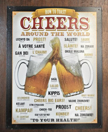 Geographer Cafe: Cheers!