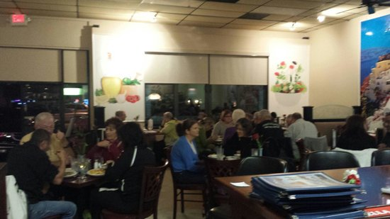 Opa! Opa! Authentic Greek Restaurant : Full house
